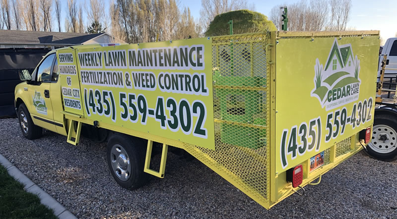 Cedar Lawn Care Pricing and Billing Information